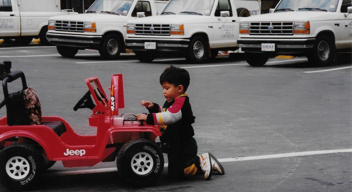 essay Amit and Trucks 1992.jpg