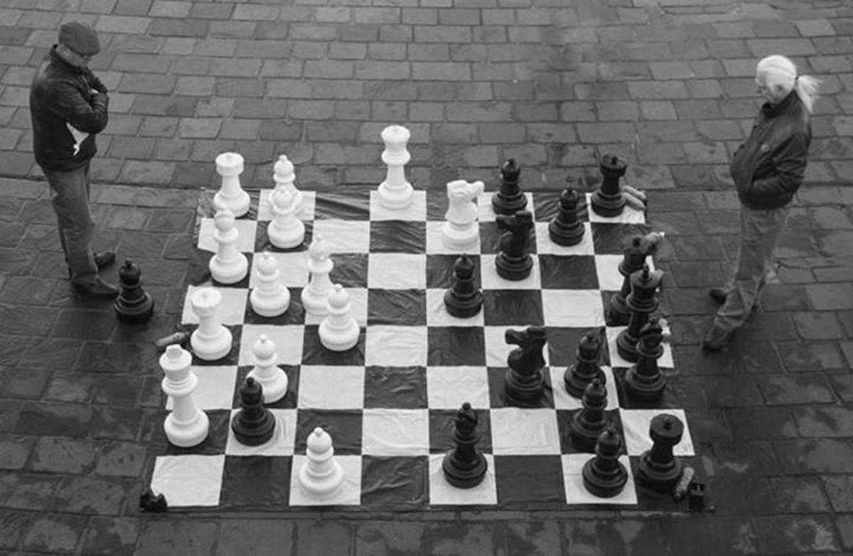 Council approves big chessboard, skating competition