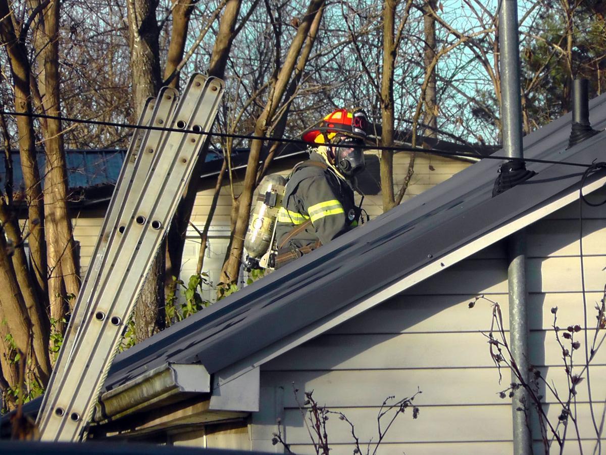 Home damaged in afternoon blaze