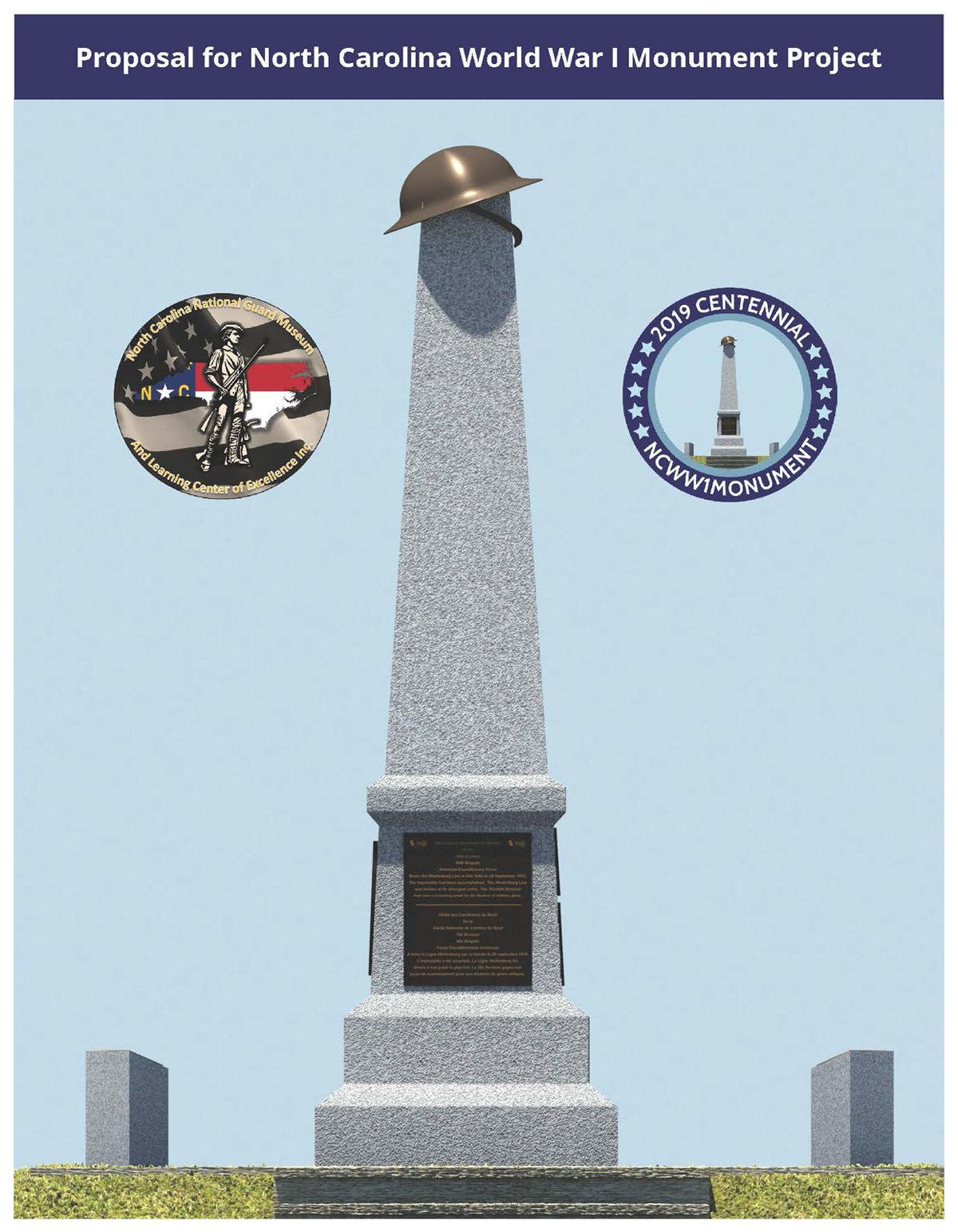 New monument to be dedicated to National Guardsmen from World War I
