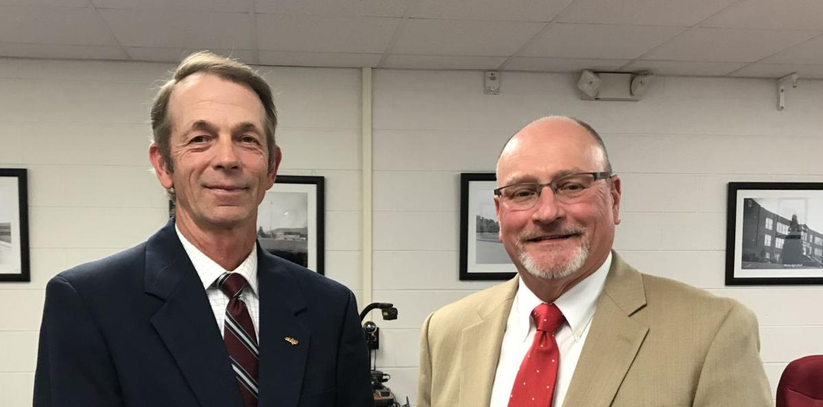 Chairman, new vice chair elected to school board