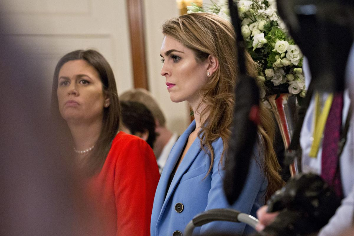 Hope Hicks resists House investigators' questions about the Trump administration