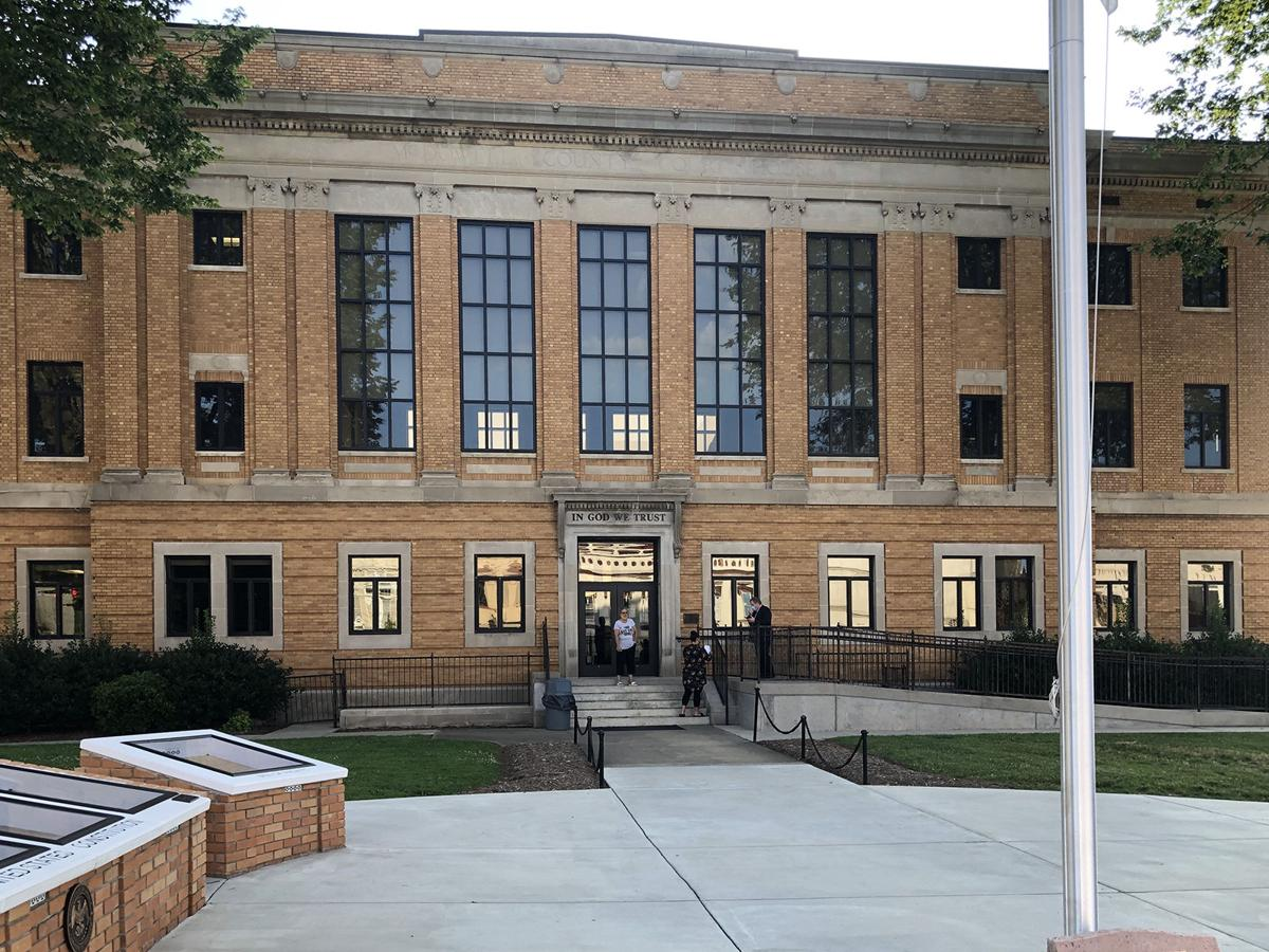 McDowell, Rutherford courthouses temporarily closed because of COVID-19