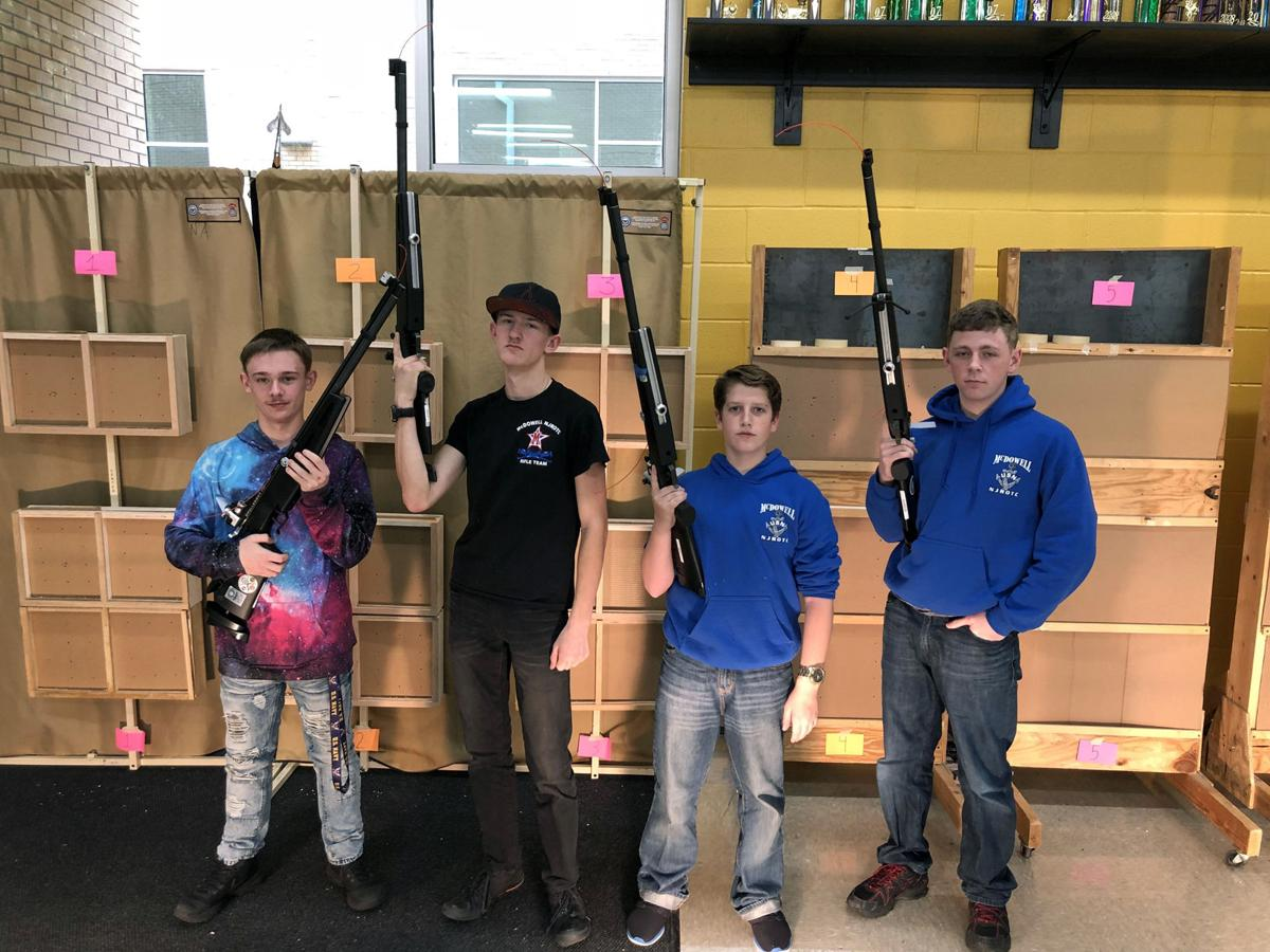 McDowell Titan Navy places third in competition
