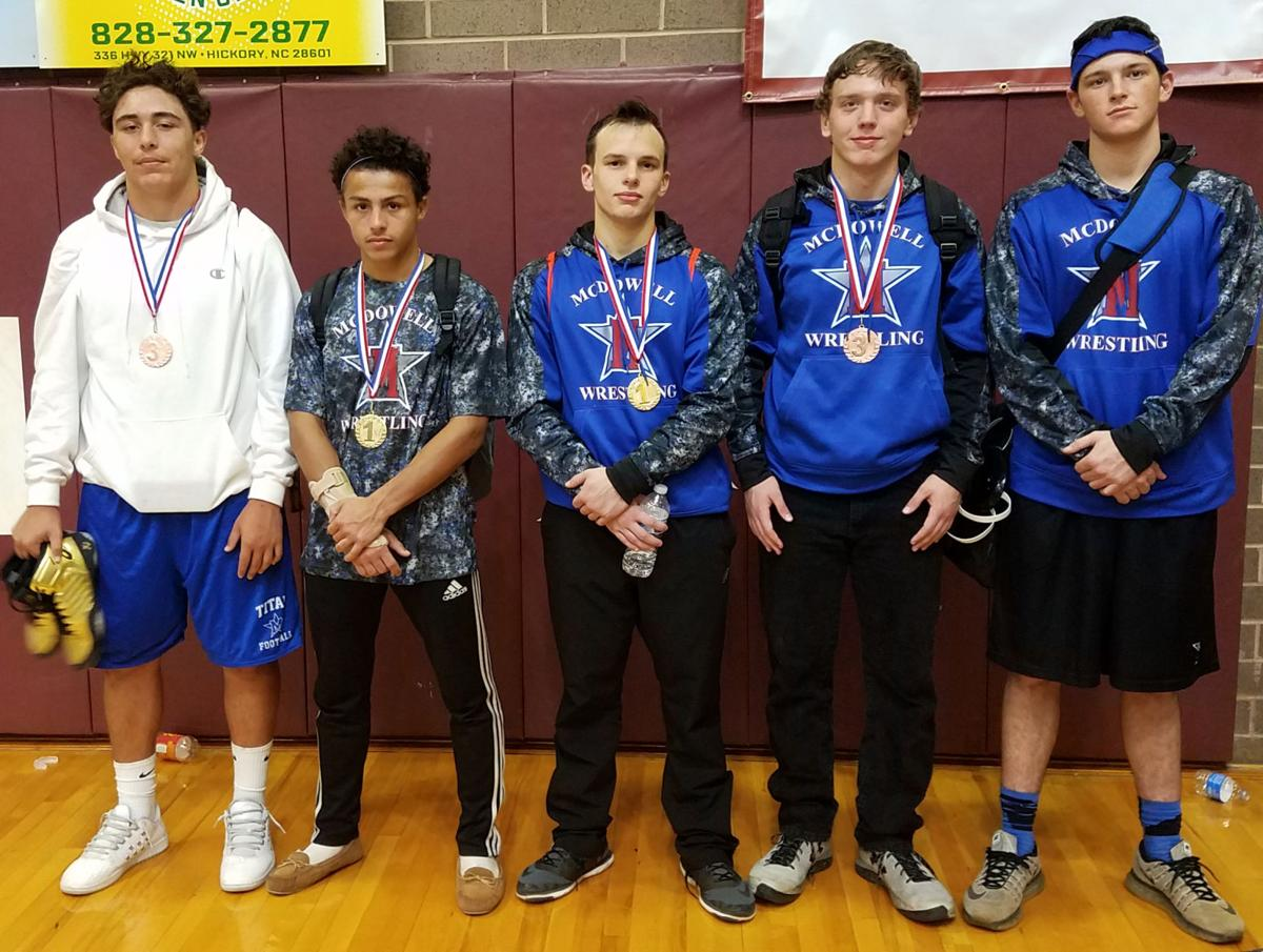 Titans 4th at tourney; McGee, Phillips win titles