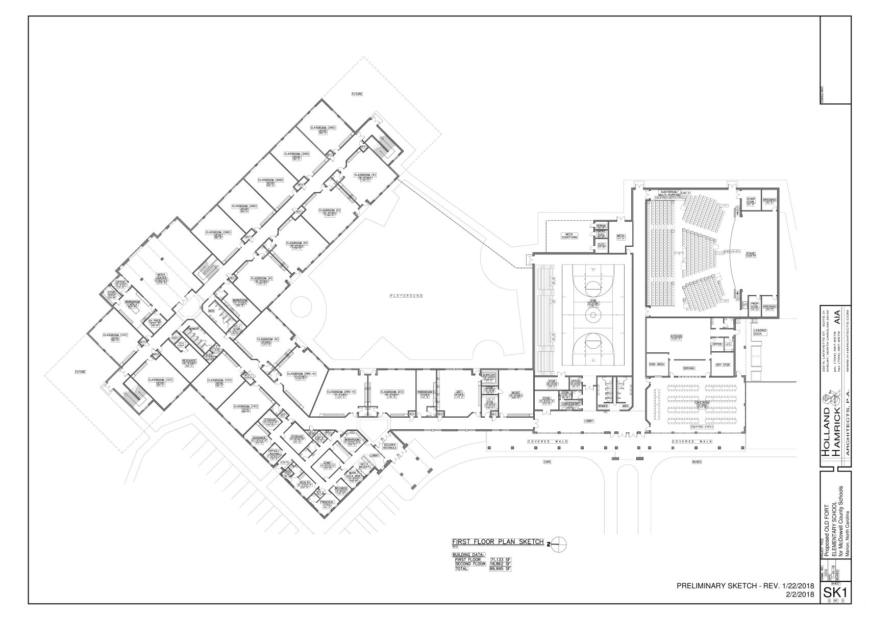Floor plans unveiled in Old Fort School project