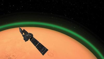 Mars glow