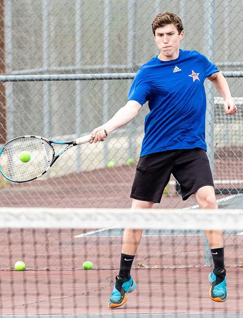 Titans end tennis season on a high note