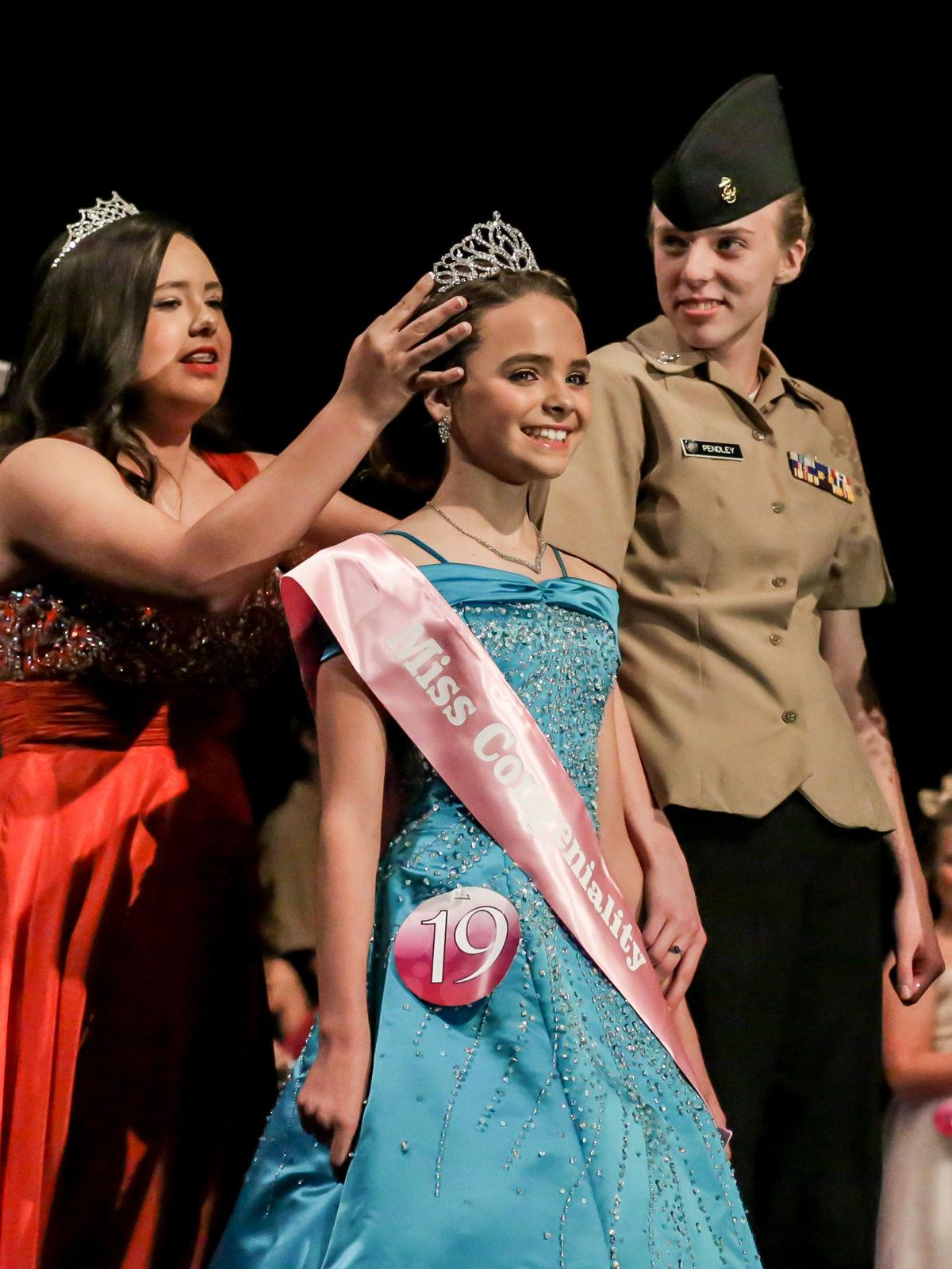 A QUEEN IS CROWNED: 11-year-old Addison Cunningham is 2017's Little Miss McDowell