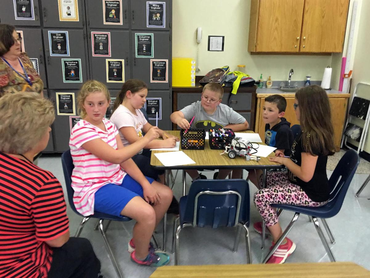 Cyberkids in action: Robotics Club introduced at McDowell elementary schools