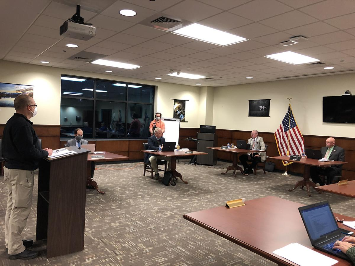McDowell County Commissioners hear latest report about COVID-19