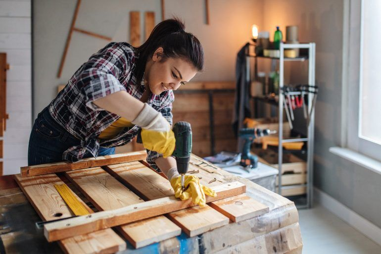 When saving for a house, set aside some money for repairs that will inevitably pop up after you move in.