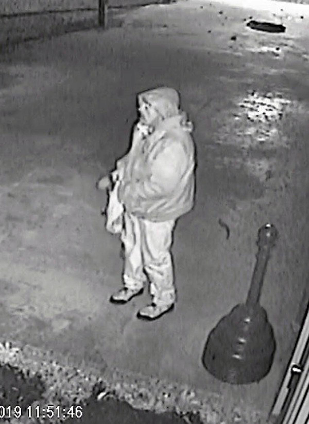 Man wanted for furniture store break-in, theft