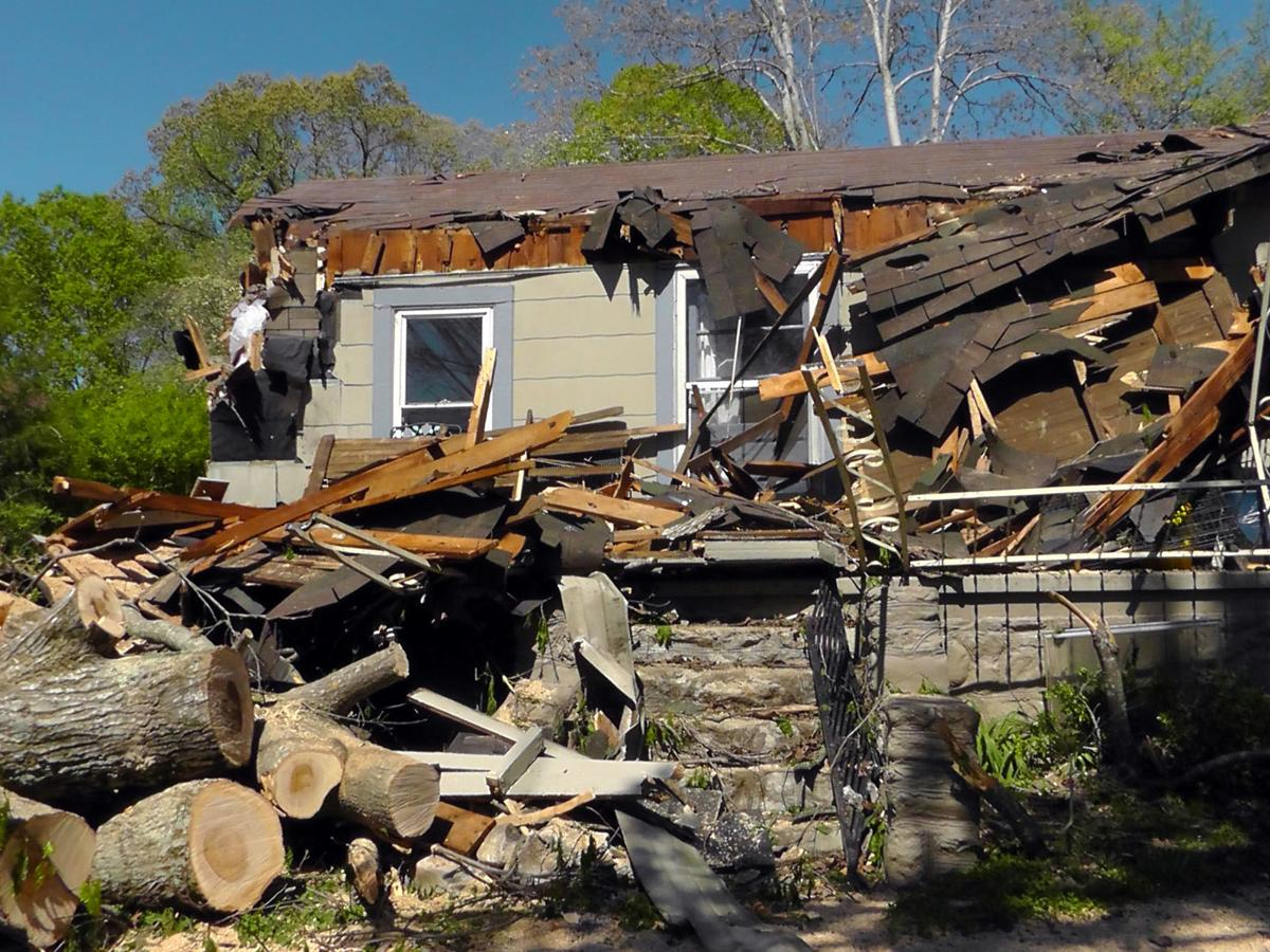 An uncertain future: Resident's home destroyed on Sunday; receiving support from family, friends, congregation