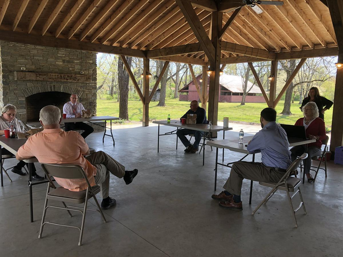 Commissioners hear latest report about COVID-19 situation