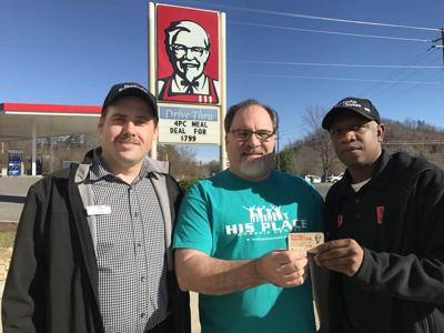 KFC restaurant honors Marion man's coupon from 1986
