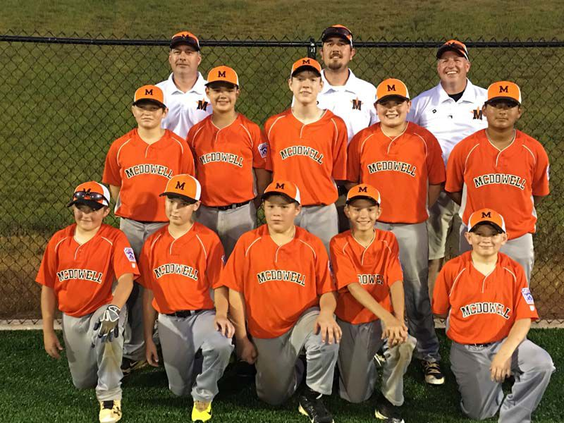 Kings of the mountain: McDowell All-Stars edge Avery for Little League District 7 title