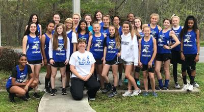 Lady Spartans win FHC track championship
