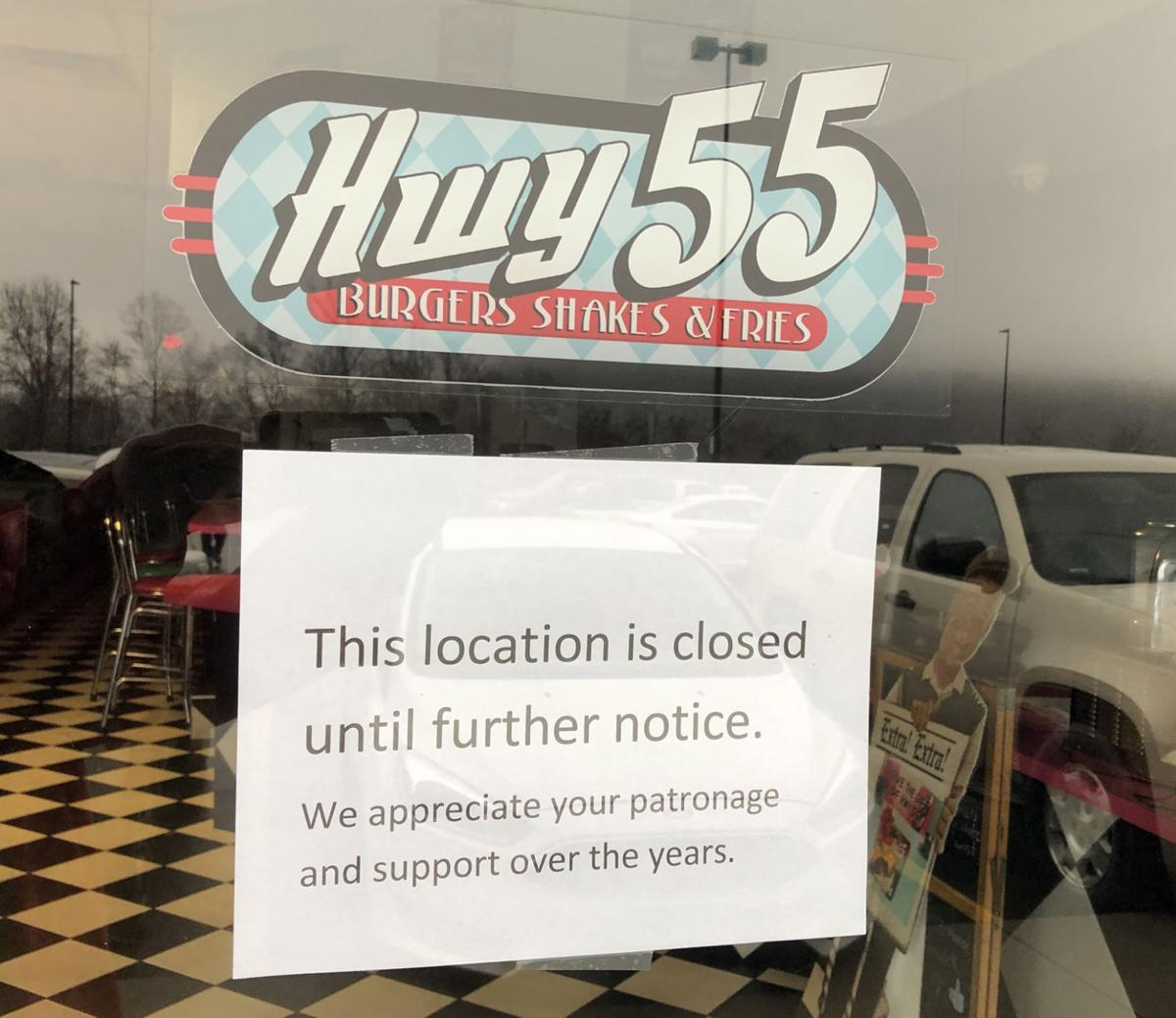 Hwy 55 restaurants, including Marion's, close their doors