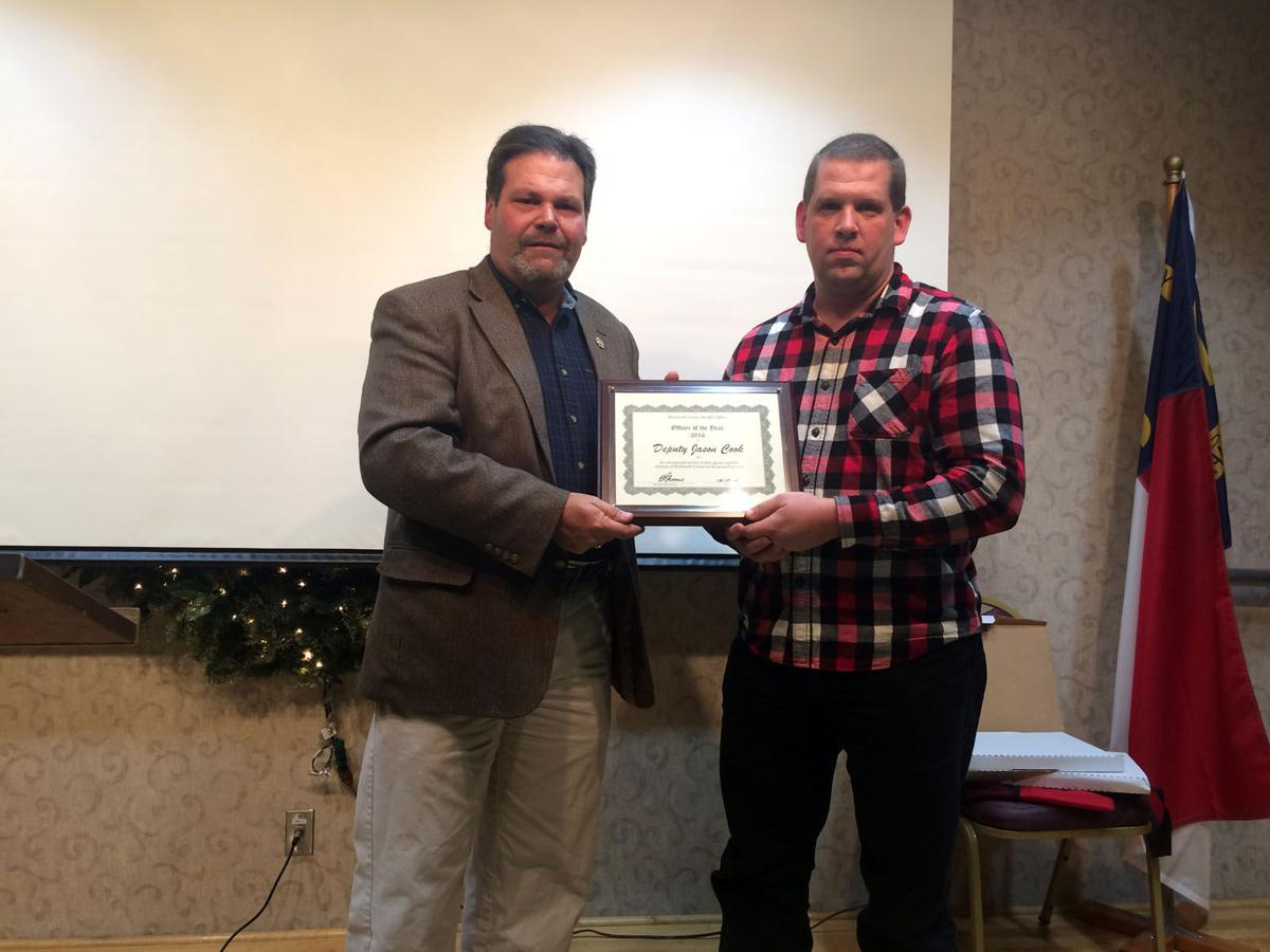 Sheriff's deputy receives Officer of the Year