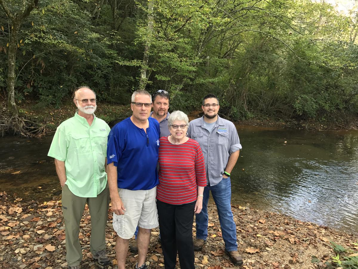 McDowell Soil and Water District stabilizes shoreline, installs trail at Lindley Park