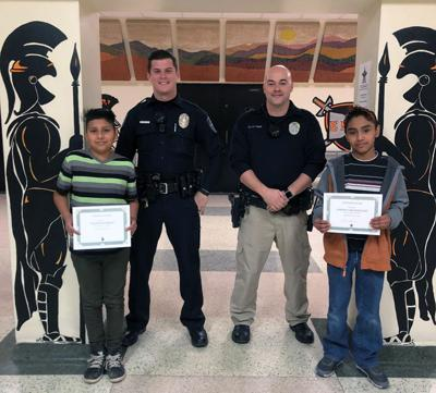 Doing the right thing: Students rewarded for honesty after breaking window
