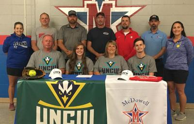 Lady Titans' Cooper to play softball at Wilmington