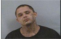 Man flees deputy, found with meth