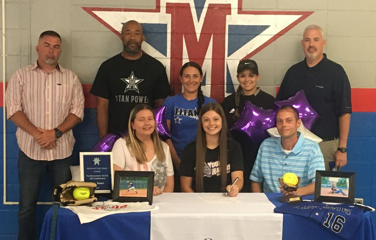 Lady Titans' Hames headed to Young Harris