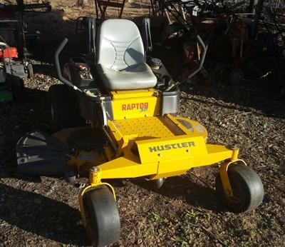 McDowell investigators search for stolen mower