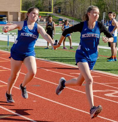 Titans win, Lady Titans 2nd at Avery meet