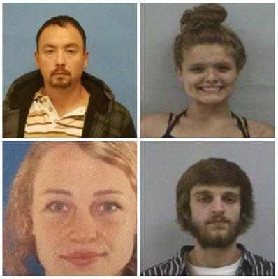4 arrested in break-in case