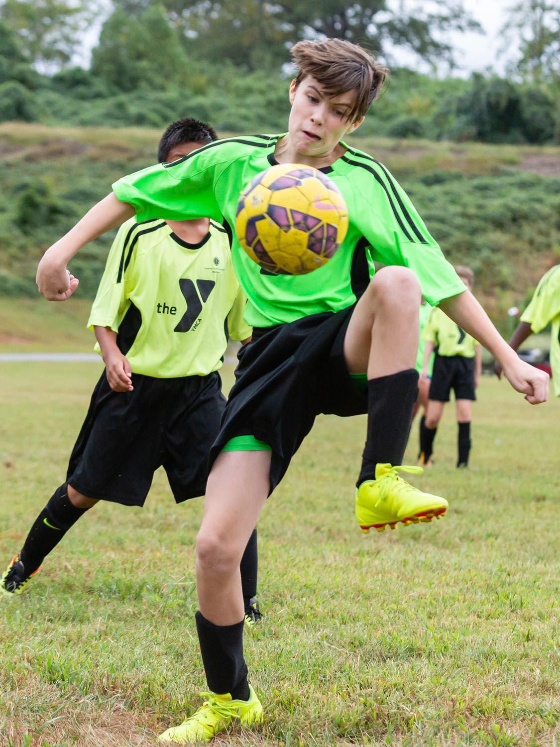 Keep on kicking: Youth soccer at the YMCA