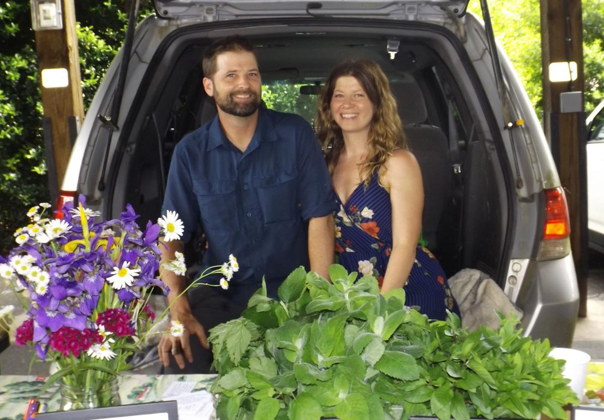 Pick up some plants at the Tailgate Market for your own herb garden