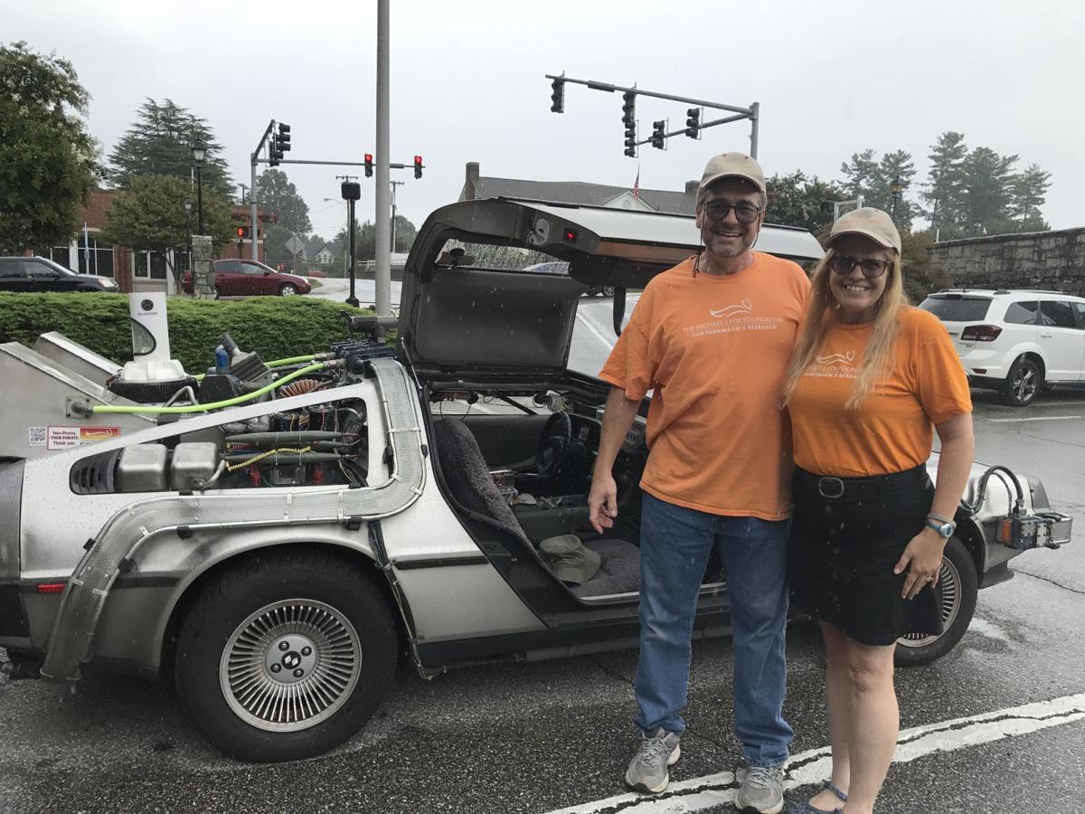 Hollers bring their Time Machine to Marion Rotary