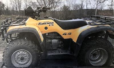 McDowell investigators search for stolen four-wheeler