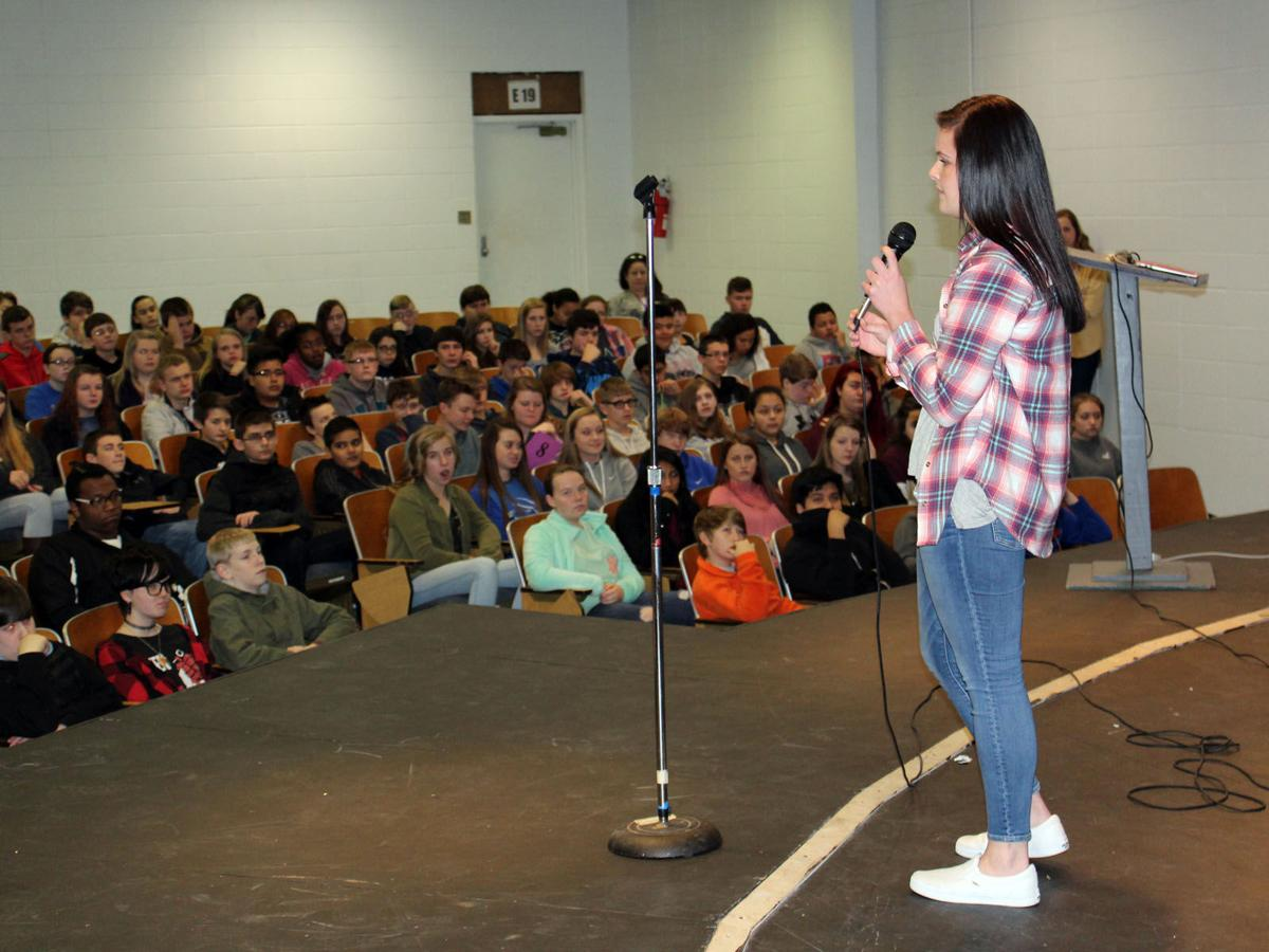 Rising ninth-graders tour McDowell High School