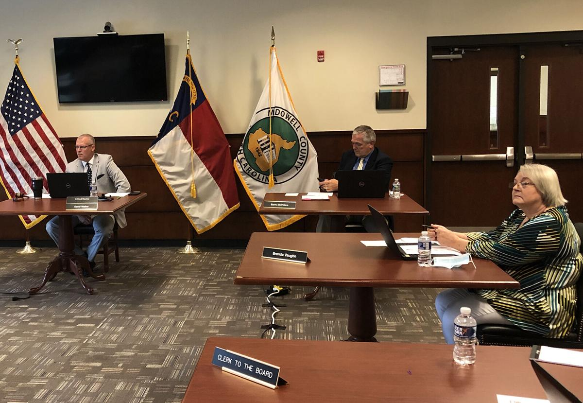 McDowell County Commissioners consider a single unified ordinance for Lake James