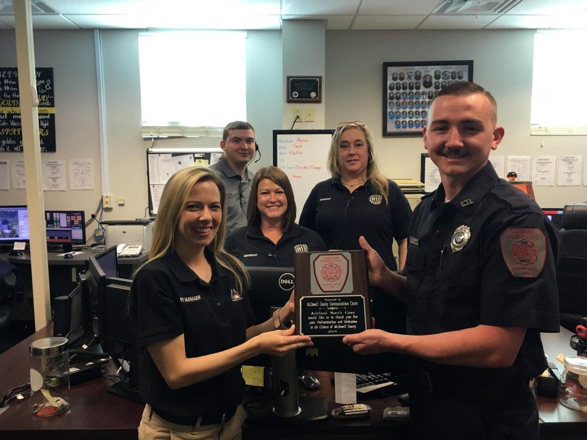 Answering the call: McDowell 911 honored during Public Safety Telecommunicators Week