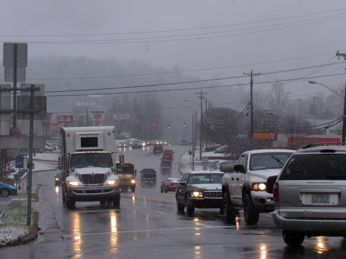 Winter Storm Benji: Accidents, closures and power outages in weekend snow