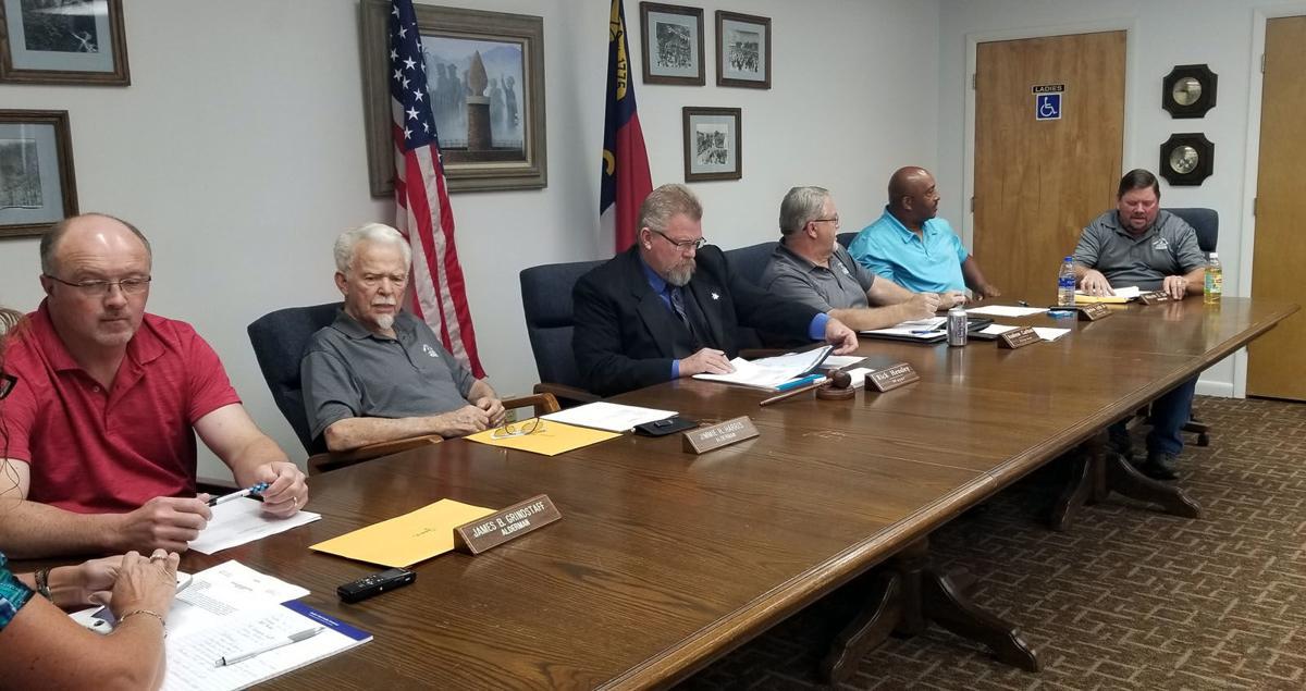 Old Fort Aldermen approve revised planning board ordinance