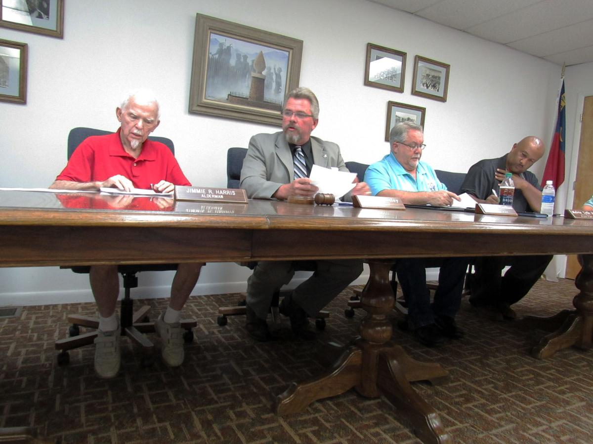 Old Fort Board of Aldermen: Beautification grant, water issues discussed in meeting