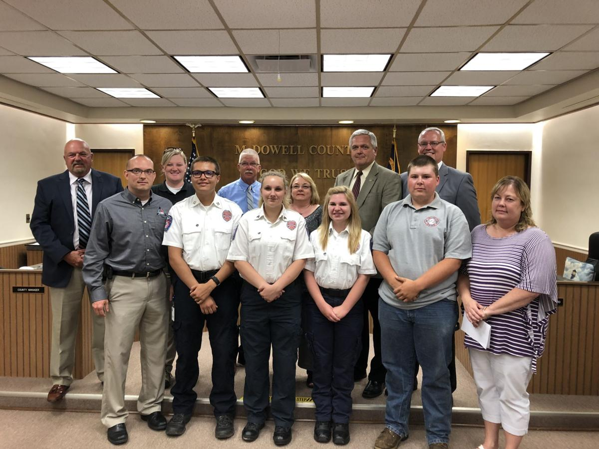 McDowell EMS interns earn top spots in competition