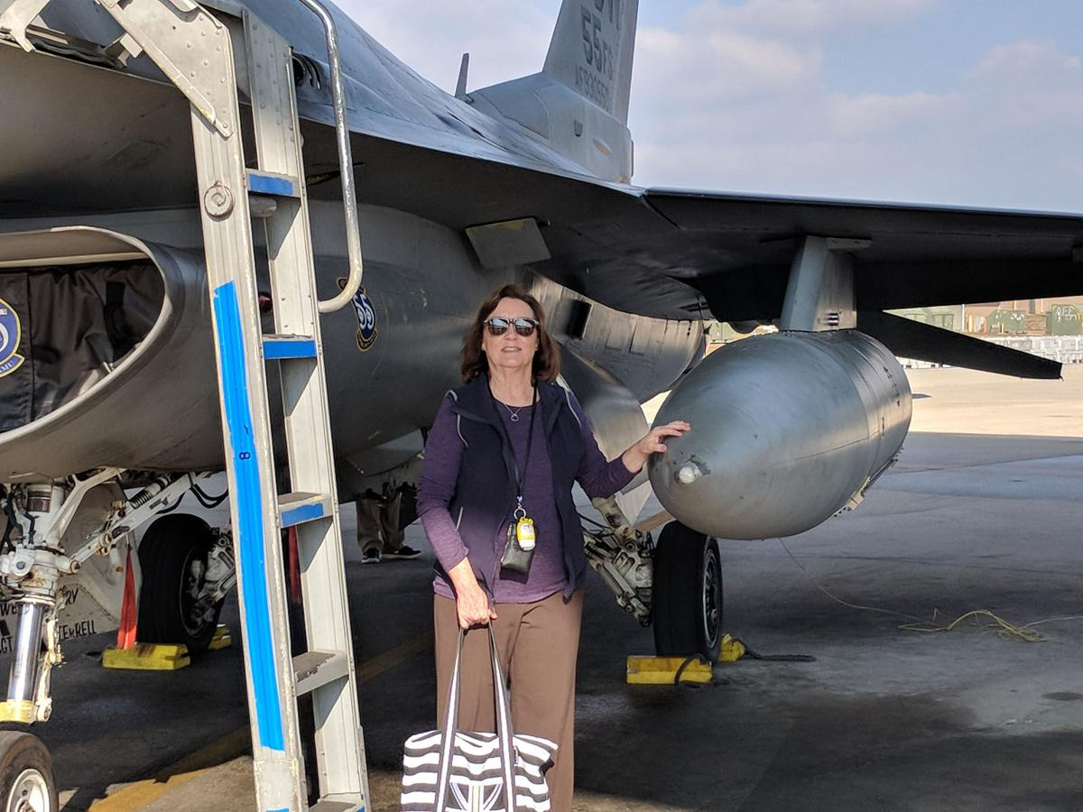 Middle school teacher invited to Shaw Airforce Base
