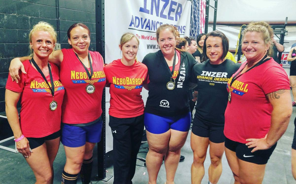 Wo womens bench press records by weight class - Nebo Barbell Women Conquer Powerlifting Meet