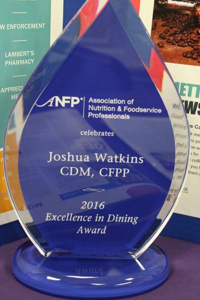 Joshua Watkin award