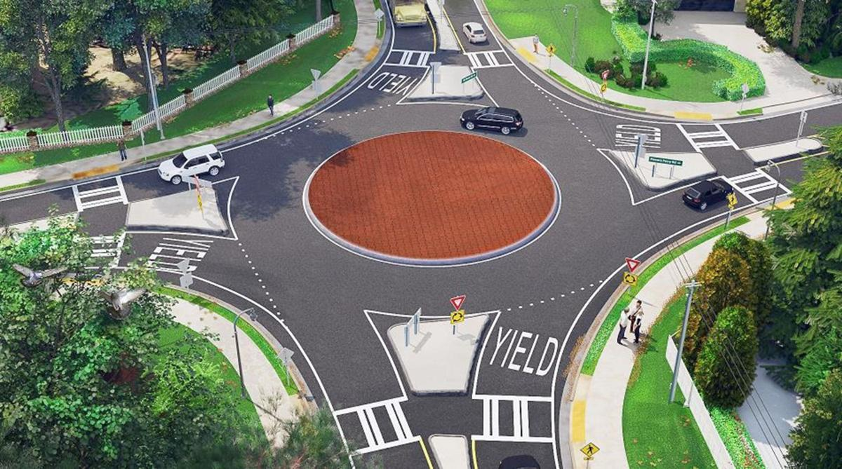 041019_MNS_Sandy_roundabout Mount Paran at Powers Ferry