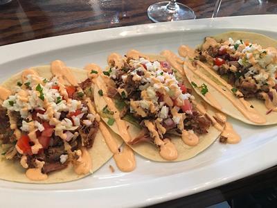 soft pork tacos
