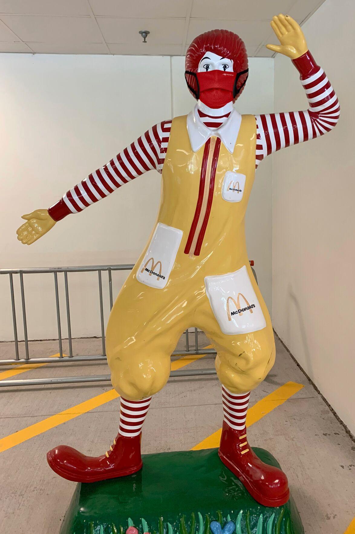 090220_MNS_Marena_masks Ronald McDonald