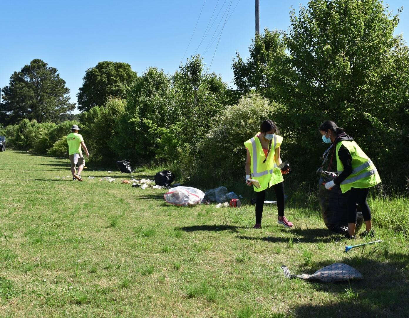 KCGB hosts spring cleanup and recycling day